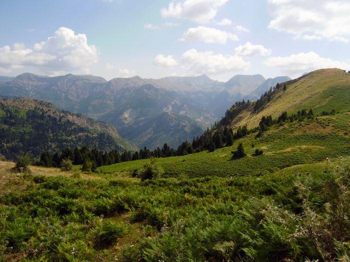 Agrafa Mountains, Greece
