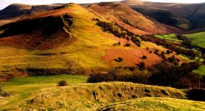 Black Mountains near Talgarth, Wales, UK