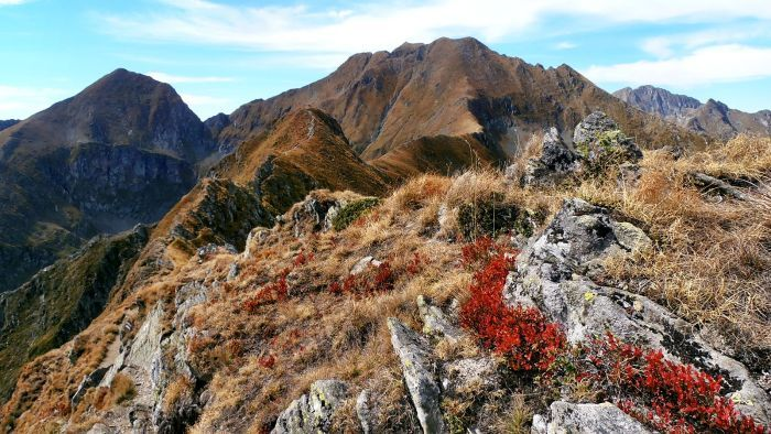The Fagaras Mountains, Romania