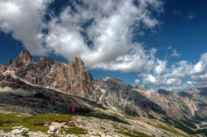 Grande Lagazuoi 1, Dolomites, Italy