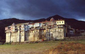 Iviron Monastery Mount Athos, Greece