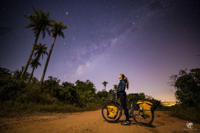 Laura Bingham, cycling South America