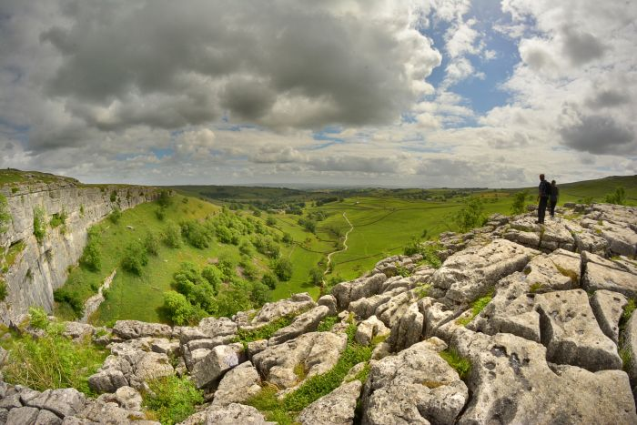 Malham Cove-North Yorkshire Dales National Park, UK