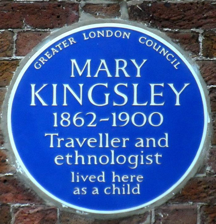 Mary Kingsley plaque
