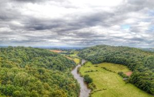 The River Wye- The Wye Valley, UK