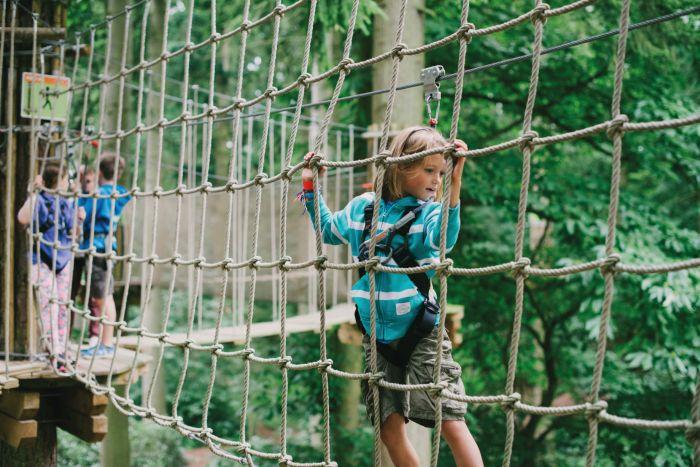 Tree Top junior challenge, Go Ape