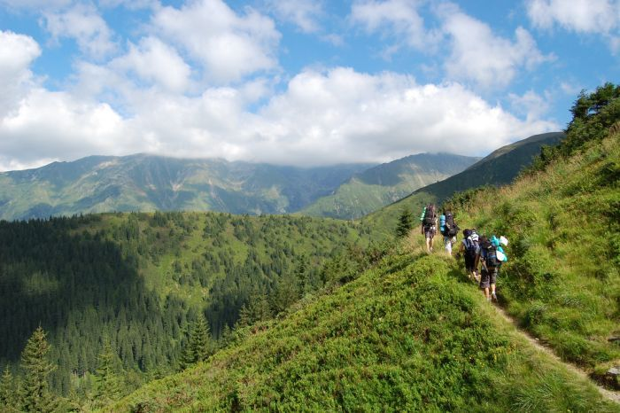 Trekking Negoiu Peak, The Fagaras Mountains, Romania