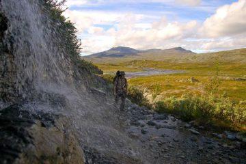 Trekking to Halti, Lapland, Finland