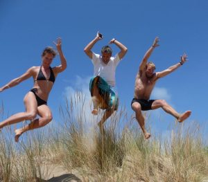 Jumping sandunes-Wildfitness