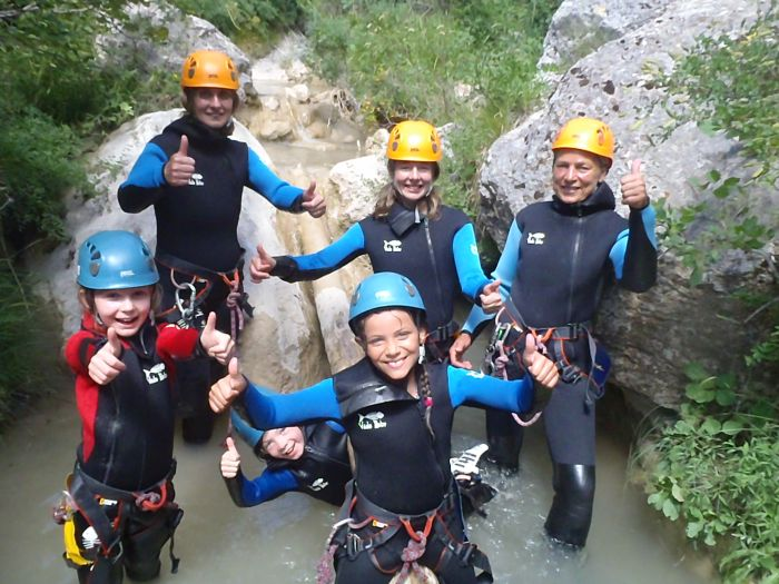Canyoning, Undiscovered Alps