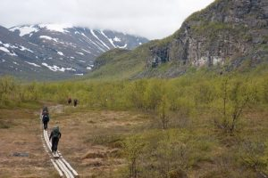 Hiking the King's Trail, Sweden