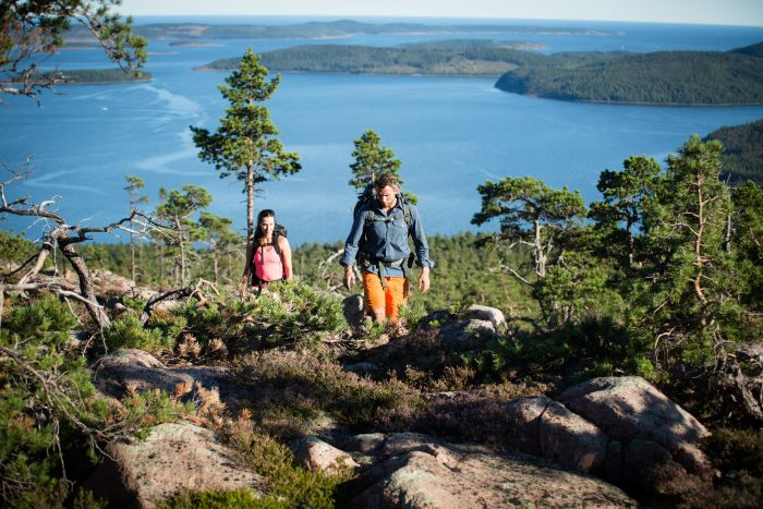 Hiking the High Coast Trail, Sweden