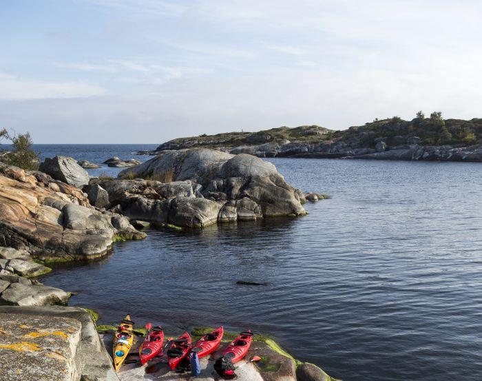 Kayaks, Bohuslan, Sweden