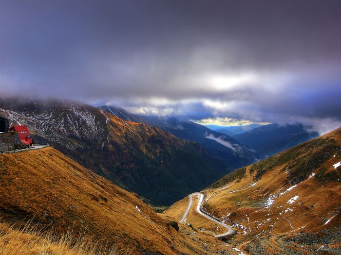 Near Balea-Fagaras Mountains, Romania