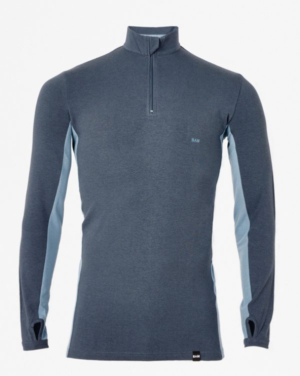 BAM Bamboo Zip Neck Baselayer