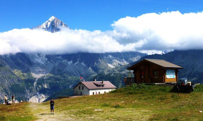 Mont Blanc, the Cham Valley, Chamonix, France