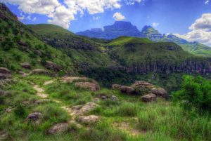 Champagne Castle, Drakensberg, South Africa