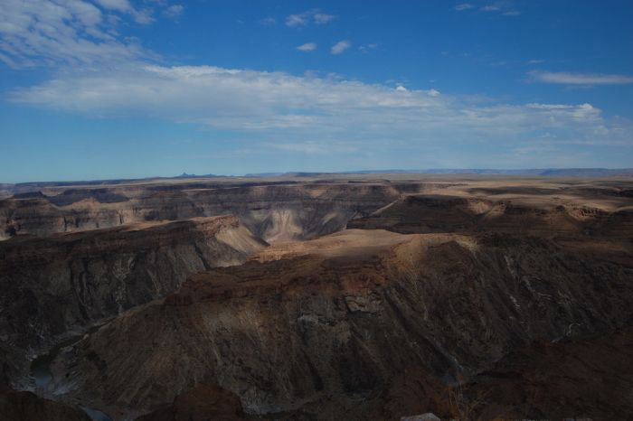 The Fish River Canyon, Namibia
