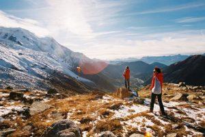 Hiking and paragliding - Chamonix, France