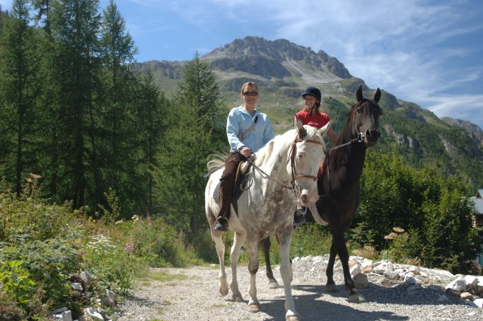 Horse riding -  Val d'Isere