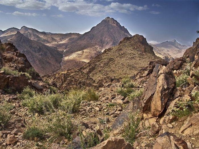Jebel Sahro region, Morocco