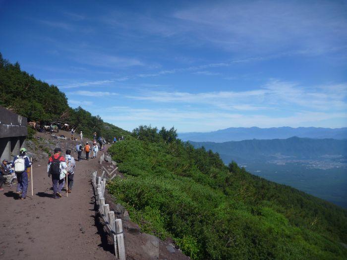 Trekking - Mount Fuji, Japan