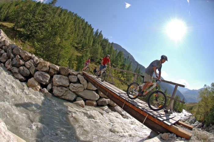 Mountain biking - The Alps