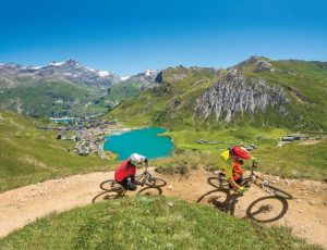Mountain biking - Tignes, French Alps