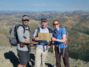 AT Editor Rosie Fuller, Torreys Peak, Colorado