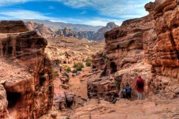 Trekking- Petra, Jordan