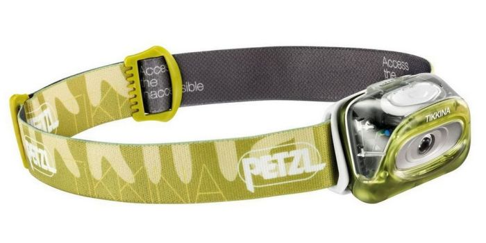 Petzl Tikkina headtorch - packing for safari
