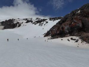 Climbing Mount Elbrus, Russia