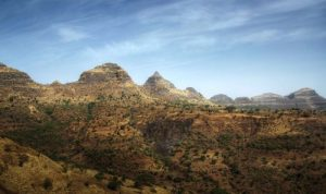 The Simien Mountains, Ethiopia