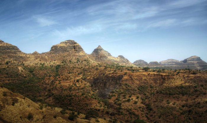 Simien Mountains, Amhara National Park, Ethiopia