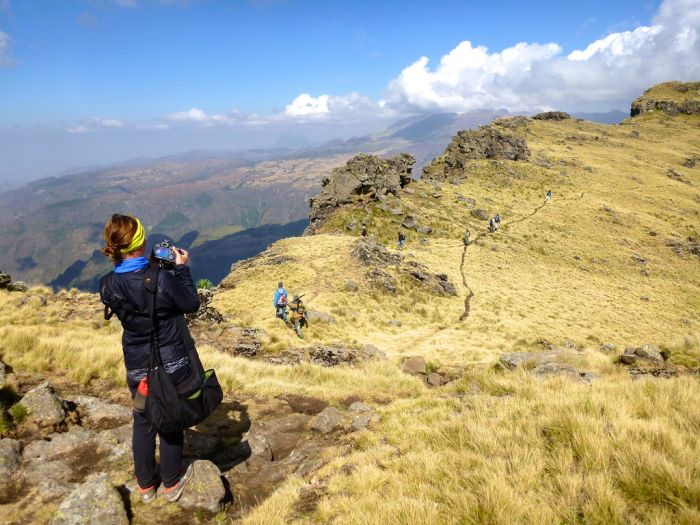 Trekking the Simien Mountains, Ethiopia