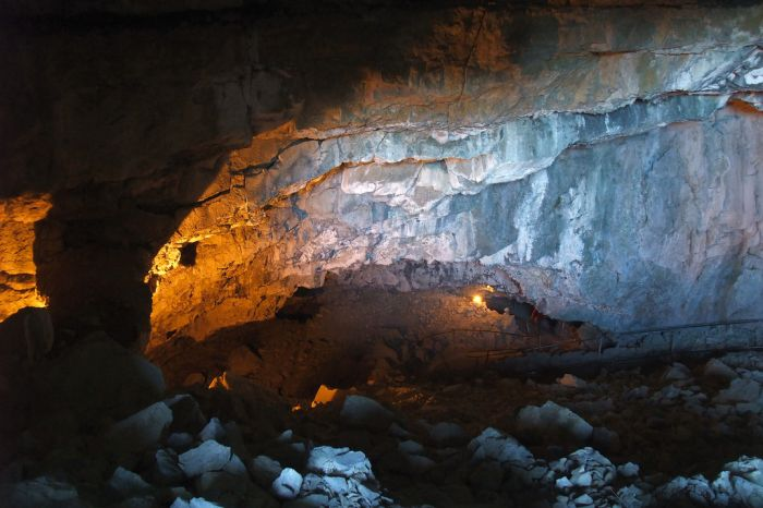 Wildkirchli Cave- Weissbad, Swiss Alps
