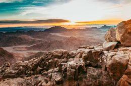 Mount Sinai, Egypt best hikes in Africa
