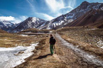 Aconcagua trek, Argentina