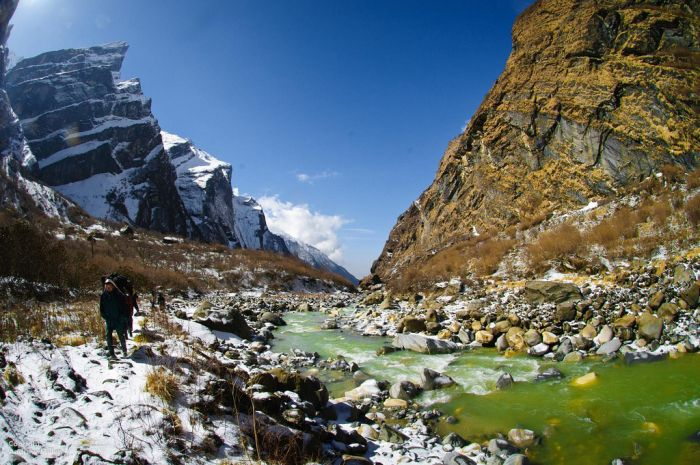 The Annapurna Sanctuary trek, Nepal
