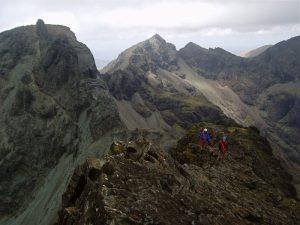 Climbing Cuillin Ridge