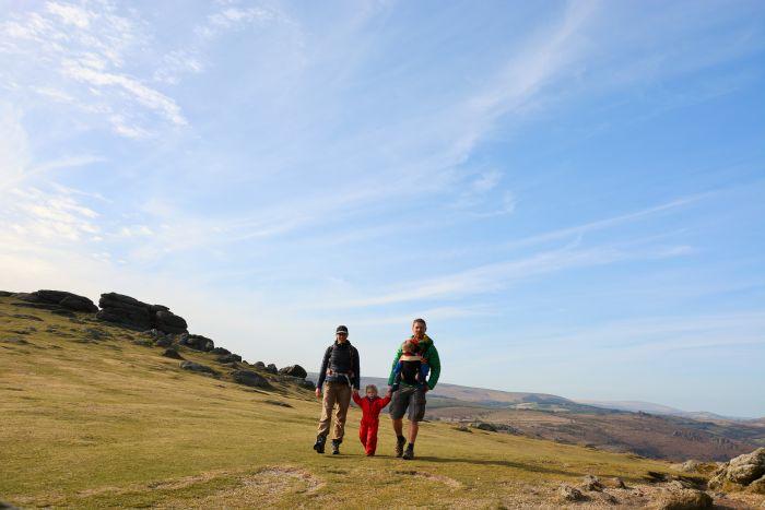 Jen and Sim Benson, Dartmoor