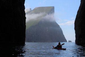 Sea kayaking, Faroe Islands