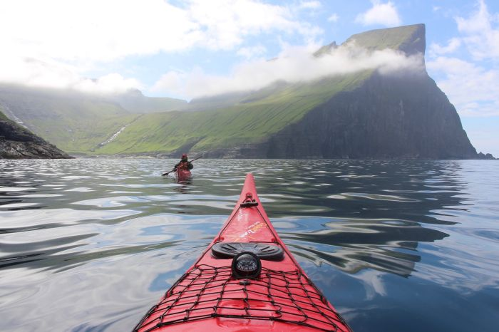Sea kayaking, Faroe Islands