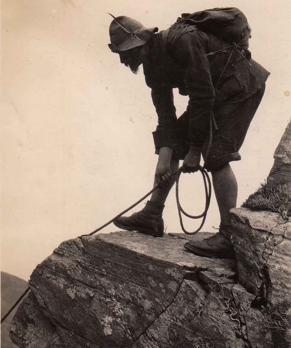 Milican Dalton climbing