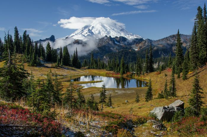 Mount Rainier - Washington,USA