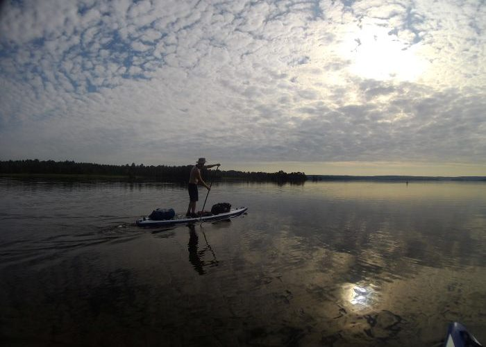 Stand up paddle boarding Sweden