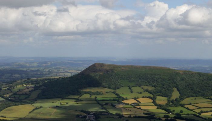 Sugar Loaf peak, Wales