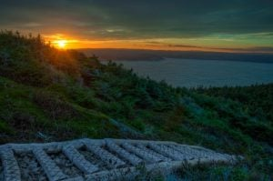 Sunset over Torbay-East Coast Trail, Newfoundland, Canada