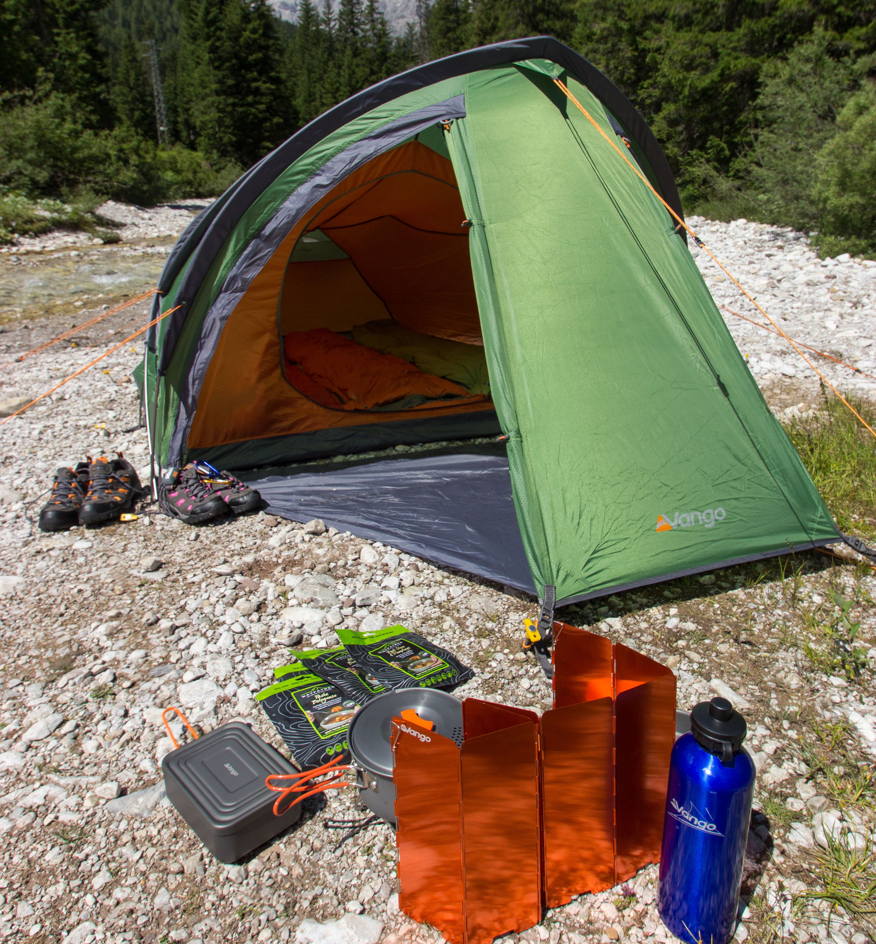 Camping and expedition food