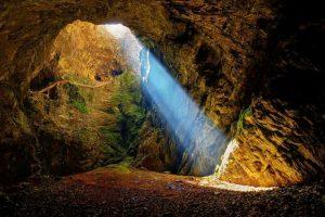 Friouato Caves, Morocco